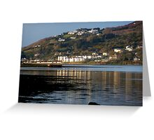 Fahan Village From Inch Greeting Card