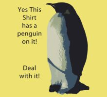 Deal With It! Penguin! Kids Clothes