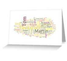 The Life and Adventures of Martin Chuzzlewit Greeting Card