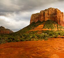 Courthouse Butte by BGSPhoto