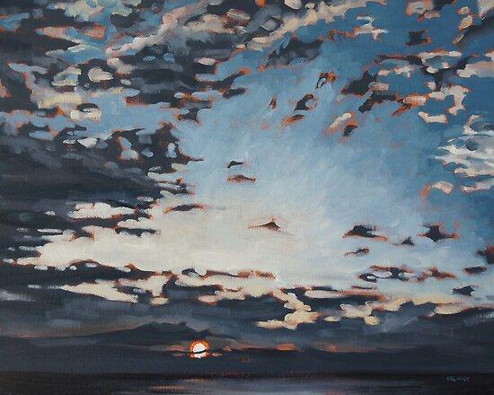 Cape Breton Sunset by David Kelavey