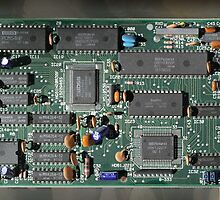 Circuit Board by Geoffrey Higges