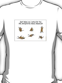 ABC Interpretive Dance Bandicoot T-Shirt