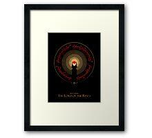 The Rings of Power Framed Print