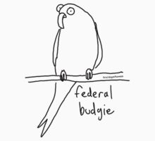 The Federal Budgie by firstdog