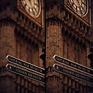 London - Big Ben Signs by Kaitlin Kelly