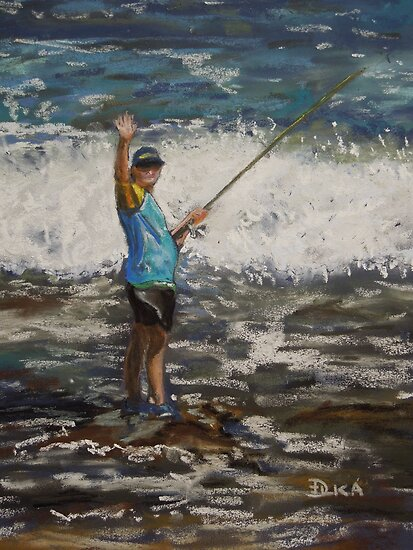 Gone Fishing by Dianne  Ilka