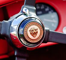 1954 Jaguar Steering Wheel by Jill Reger