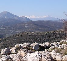 Mycenae Mountains by Emma Holmes