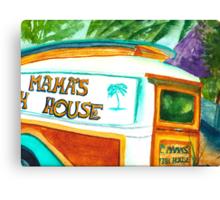 Mama's Fish House Canvas Print