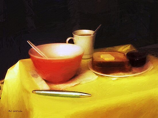 Breakfast at Dawn by RC deWinter
