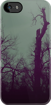 DarkTrees iphone by Margaret Bryant