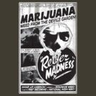 Vintage Reefer Madness - Devil's Garden by colorhouse