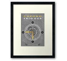 CT - About Time Framed Print