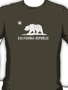 Vintage California Cannabis - Dark T-Shirt