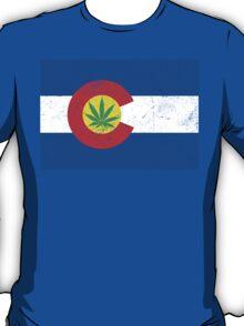 Vintage Colorado Cannabis T-Shirt