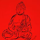 Red Buddha by Allegretto
