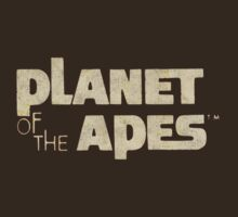 Planet of the Apes Vintage by Deadscan