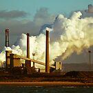 Chemical works and smoke by David Hall