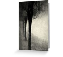 Twins in the Forest Greeting Card