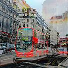 London IX - Red Buses by Igor Shrayer