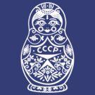 Matryoshka CCCP by BT-PopTee
