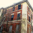 Another Abandonned Hospital Ward, Overlook Hospital, Cedar Grove NJ by Jane Neill-Hancock