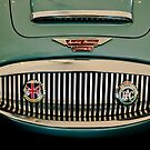 1967 Austin-Healey BJ8 Convertible Grille by Jill Reger
