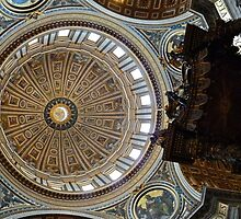 San Peters - Vatican Rome Italy by Ommik