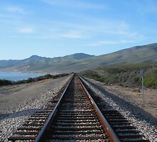 """Union Pacific Tracks - North"" by waddleudo"