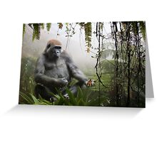 Harmony in the mist  Greeting Card