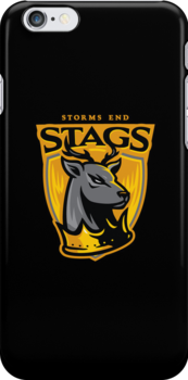 Go Stags! - IPHONE CASE by WinterArtwork