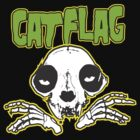 Cat Flag &quot;MisFits&quot;  by BUB THE ZOMBIE