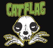 "Cat Flag ""MisFits""  by BUB THE ZOMBIE"