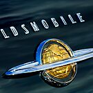 1950 Oldsmobile 88 Emblem by Jill Reger