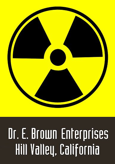 Dr. E. Brown Enterprises Hill Valley, California (Prints, Cards & Posters) by PopCultFanatics
