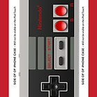 NES CONTROLLER iphone Case by grafidiU