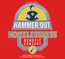 Hammer-Out Homelessness Kids Clothes