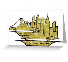 New York City drawing Greeting Card