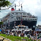 Queen Mary 2 Down under by Doug Cliff