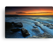 Dee Why Rocks Canvas Print