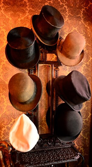 Hat Stand from Monty Cristo. by Julie  White