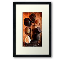 Hat Stand from Monty Cristo. Framed Print