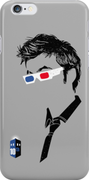 Tenth Doc iPhone Case by zerobriant