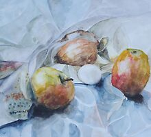 Two apples, one egg and onion - Cooking quartet by Dmitri Matkovsky