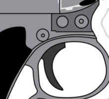 Men in Black mini Gun Sticker