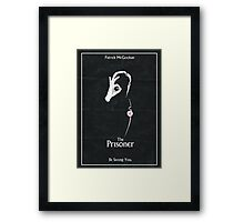 The Prisoner: Be Seeing You Framed Print