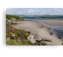 Coast at Portmeirion Canvas Print