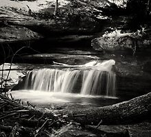 Lower falls by woodnimages
