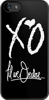 XO Til We Overdose - Alternate (White) by Faded Fabrics